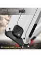 Microsonic Huawei Mate 20 Pro Kılıf Rugged Ar  Renkli
